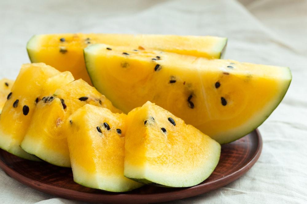 Yellow Watermelon Season Tips For Yellow Sweetness